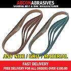 30 x Abrasive File Belts 20x520mm (P36-P500)  Manufactured in Ireland