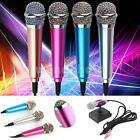Mini 3.5mm Microphone External Mic for Computer Laptop Tablet PC Skype Speech