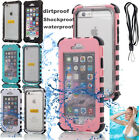 WATERPROOF SHOCKPROOF DIRT PROOF CASE COVER FOR APPLE IPHONE 6/6S PLUS