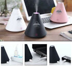 Creative Volcano Style USB Humidifier Diffuser +Led Essential Oil Aroma Atomizer