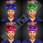 NEW YEARS LED Light Up Crazy Spirit Hair Flashing Wig Headband - SO FUN~