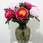 "30"" Artificial Silk Peony Plant Flower Wedding Party Decor Home Garden"