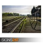 RAILWAY STATION (AB019) TRAIN POSTER - Photo Picture Poster Print Art A0 to A4