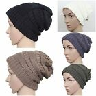 Bubble Knit Slouchy Baggy Beanie Oversize Thick Winter Hat Ski Skull Cap UNISEX