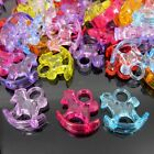 24/48/96 Mixed transparent mini Acrylic Rocking Horse For Baby Party Decorates