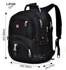 "Mens Gear Backpack Rucksack Swiss Notebook Hiking Travel 15.6"" Laptop School Bag"