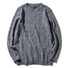 Winter Keep Warm Round Neck Diamond-shaped Sweater men simple knit pullover