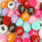 Free 40pcs Resin Letter M Beads Flatback Cabochon Beads for craft scrapbook 14mm