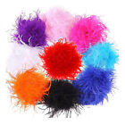 Marabou & Ostrich Feather Boa Fur Scarf, For Party, Burlesque Dancing, Costume