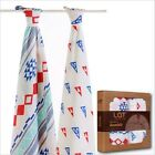 """Baby Blanket&Swaddle Bamboo Cotton Infant Multi-functional Towel Size 47""""x 47"""""""