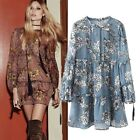 FREE GIFT + 2 COLOR BLOGGER FAV VTG BOHO FESTIVAL BABY DOLL WEDDING TUNIC DRESS
