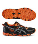 Asics Gel Sonoma 2 Men Laufschuhe black/silver/flame orange