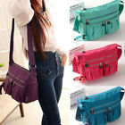Women Handbag Nylon Shoulder Waterproof Tote Purse Lady Crossbody Messenger Bag