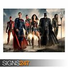 JUSTICE LEAGUE 2017 MOVIE (AB078) MOVIE POSTER - Poster Print Art A0 A1 A2 A3
