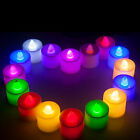 Electric LED Submersible Candle Tea lights For Wedding Party Club Decor