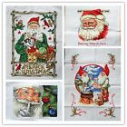 "New Finished Completed Cross Stitch needlepoint ""Santa Claus""freeshipping to USA"
