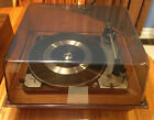 Vtg Dual United Audio 1009 F Turntable w/Bth Stacking + Single Spindles & Manual