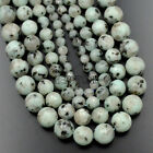 "Faceted Natural Lotus Jasper Gemstone Spacer Round Beads 15.5"" 6mm 8mm 10mm 12mm"