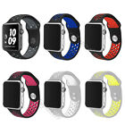 Silicone Sports Wrist Watch Band Strap for Apple Watch iWatch New Colors 38/42mm