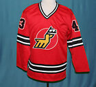 MARC TARDIF MICHIGAN STAGS WHA HOCKEY JERSEY 1970s SEWN NEW ANY SIZE XS 5XL