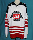 PETE LOPRESTI TEAM USA CANADA CUP HOCKEY JERSEY NEW SEWN ANY SIZE XS - 5XL