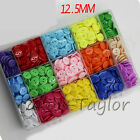 100pcs 2-holes Resin Buttons Sewing Scrapbook Cardmaking Craft DIY Round 12.5mm