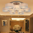 Top Modern Round Acrylic Chandelier Lighting Pendant Lights Home Ceiling Fixture