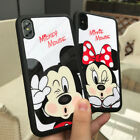 Cute Mickey Minnie Cartoon String Soft TPU Case Cover for iPhone 7 6 6s plus 5s