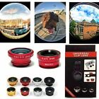 Kyпить 3in1 Clip Fish Eye+Macro+Wide Angle Lens Camera kit for iPhone/Samsung Cellphone на еВаy.соm