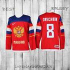 ALEX OVECHKIN 8 RUSSIA 2014 SOCHI WINTER OLYMPICS MEN ICE HOCKEY JERSEY
