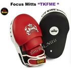 NEW DESIGN TOP KING FOCUS MITTS PADS TKFME EXTREME TRAINING SPARRING MMA