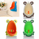 HOT Frog Kids Potty Toilet Training Baby Urinal for Boy Pee Trainer Bathroom image