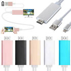 Plug & Play 1080P Lightning to HDMI HDTV AV Cable Adapter for iPhone 6 5 7 Plus