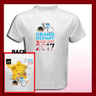 TOUR DE FRANCE 2017 DUSSELDORF Logo Route 2 Sides Men's T-Shirt S M L XL 2XL 3XL