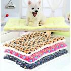 Warm Winter Pet Dog Cat Puppy Kennel Cage Seat Cushion Mat Pad Blanket Bed Cover
