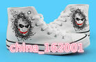 New!Suicide Squa Joker cosplay neutral high-top canvas shoes