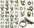 Brass Decorative Lobster OT Buckle Clasp 39 style Connector Hook Jewelry 2-20pcs