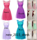 New Tulle Bridesmaid Dress Short Homecoming Prom Party Cocktail Dresses SIZE2-16