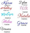Home Garden -  PERSONALIZED VINYL NAME DECAL STICKER (UP TO 10 CHARACTERS )