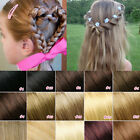 Elite99 Real 100% Human Hair Thick Deluxe Full Head Clip In Remy Extension Hot