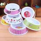Puppy Cat Pet Dog Go Slow Eating Feed Bowl Food Water Dish