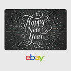 eBay Digital Gift Card - Happy New Year - Fast Email Delivery