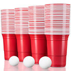 Rote Partybecher Trinkbecher Einwegbecher Plastikbecher Party Beer Pong Red Cups