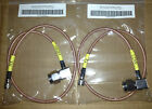 Motorola GR300 GR500 CDR700 CDR500 Duplexer Cables RX & TX RG400 Right Angle N