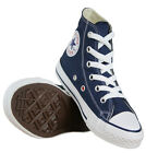 Converse All Star Chuck Taylor Hi Top Navy Blue Sneakers Unisex Shoes 3j233