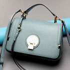 Womens Genuine Leather Handbag Retro Shoulder Messenger Bag Fashion Camera Bag