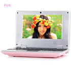"""7"""" Android Mini Notebook 4GB/8GB Laptop Netbook Keyboard Quad Core WIFI Cam PC B"""