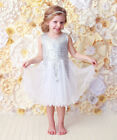 Toddle Kids Girl Princess Party Dress Sequins Tutu Formal Dresses Ball Gown 2-7Y