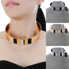 Fashion Jewelry Gold Silver Punk Gothic Collar Choker Statement Bib Necklace