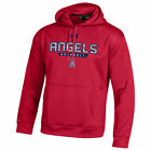 Under Armour Los Angeles Angels Red Pullover Hoodie - MLB